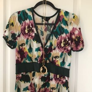 Beautiful boho flower dress